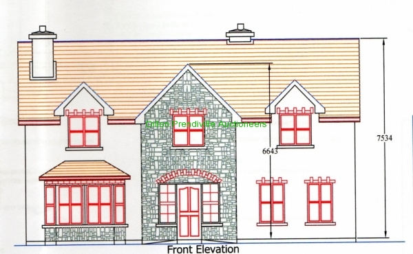 19 GOLF VIEW FRONT ELEVATION007